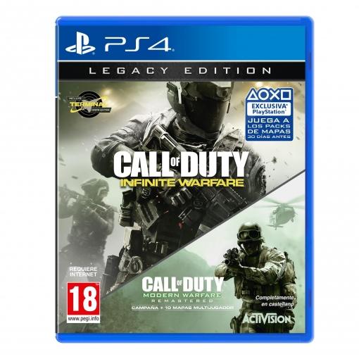 Call of Duty ®: Infinite Warfare - Legacy Edition (PS4) en Carrefour Torrelavega