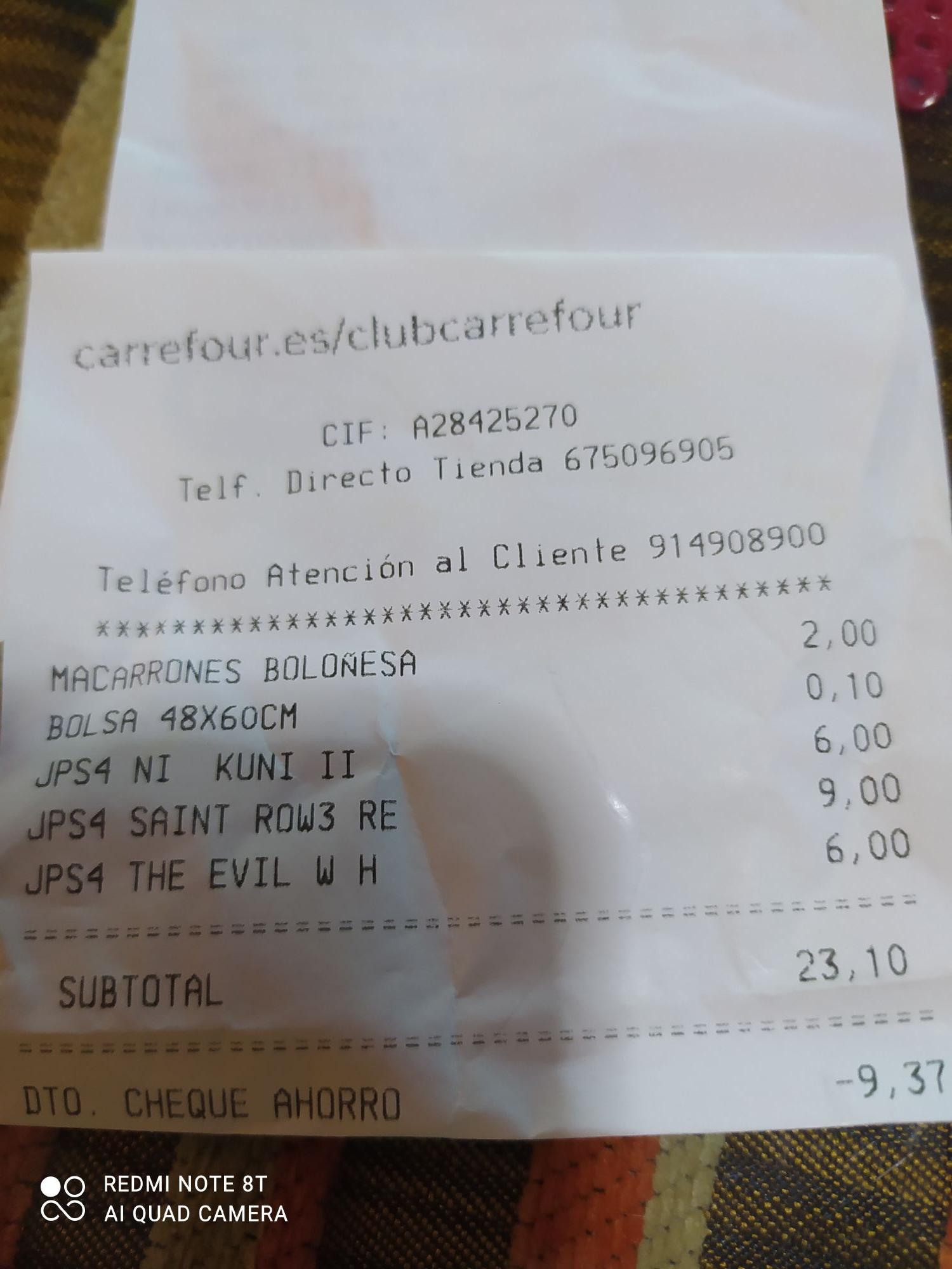 Juegos ps4 Carrefour Dos Hermanas