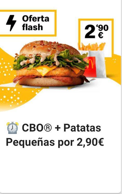 CBO + patatas a 2,90€
