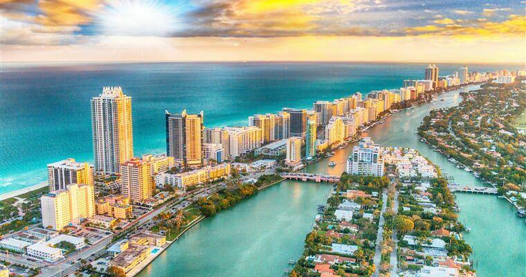 Vuelos ida y vuelta a Miami desde 184€ para Noviembre