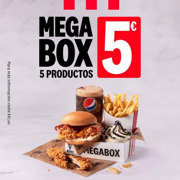 Megabox: 5 productos por 5€