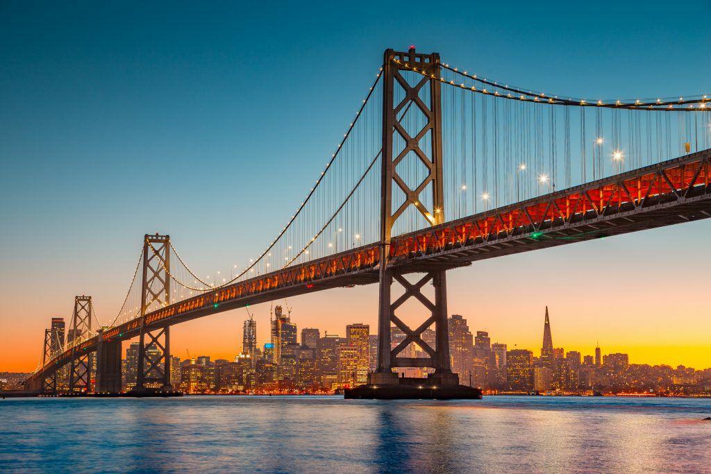 Vuelos ida y vuelta a San Francisco desde 258€ para Septiembre