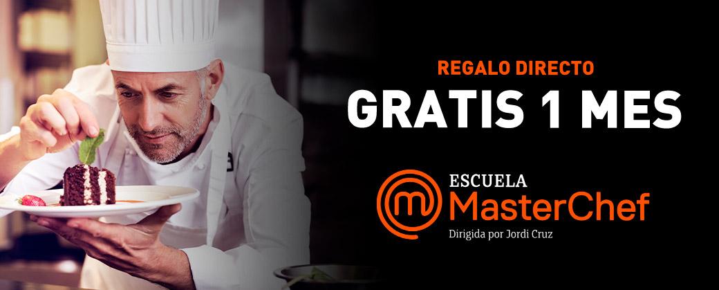 GRATIS 1 MES EN ESCUELA MASTERCHEF CON BORGES - Comprando 2 productos
