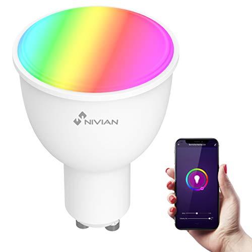 Bombilla inteligente RGB compatible con ALEXA