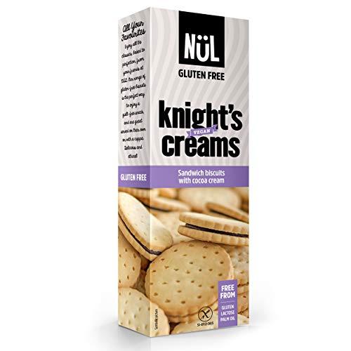 9x Cajas de Galletas sin gluten rellenas de crema de cacao 225g c/u - NüL