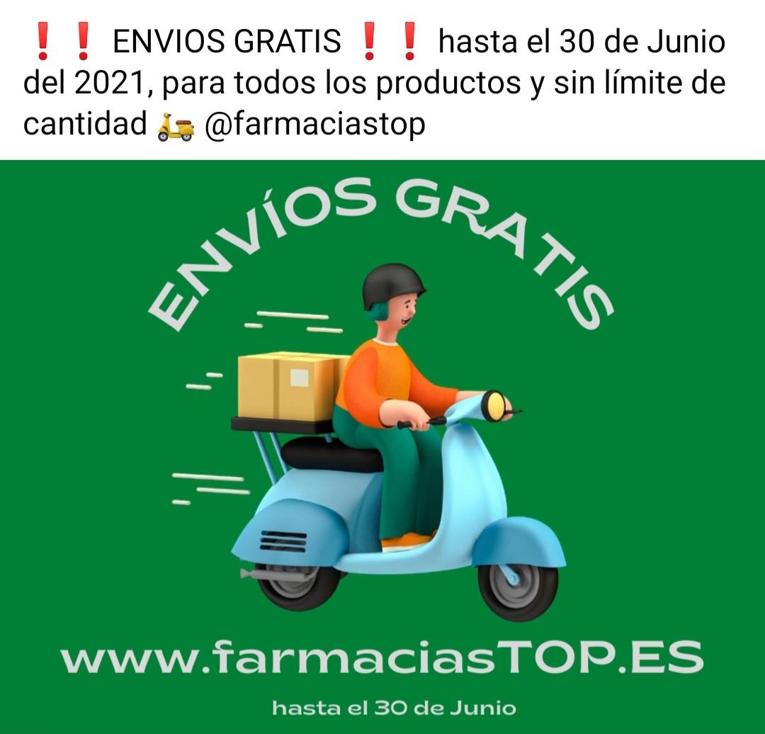 Gastos de envio gratis a toda España* sin limite de compra