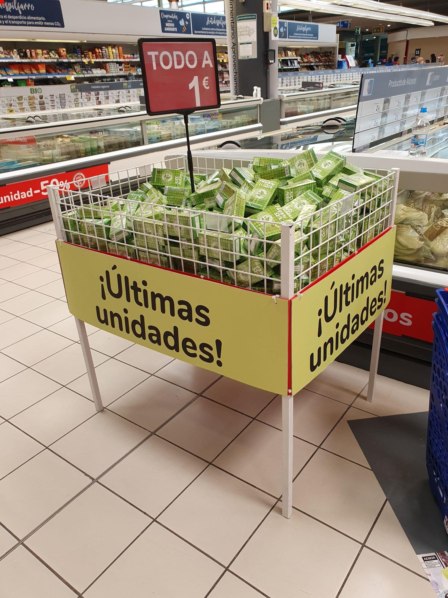 Preservativos Happy Sex en Carrefour Puerta de Alicante