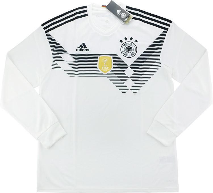 Camiseta de Alemania 2018-19 L/S