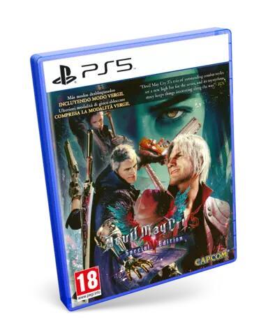 Devil May Cry 5 Edición Especial (PS5)