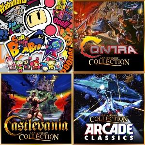 Super Bomberman R, Castlevania, Contra, Arcade Collections, Contra [eShop]