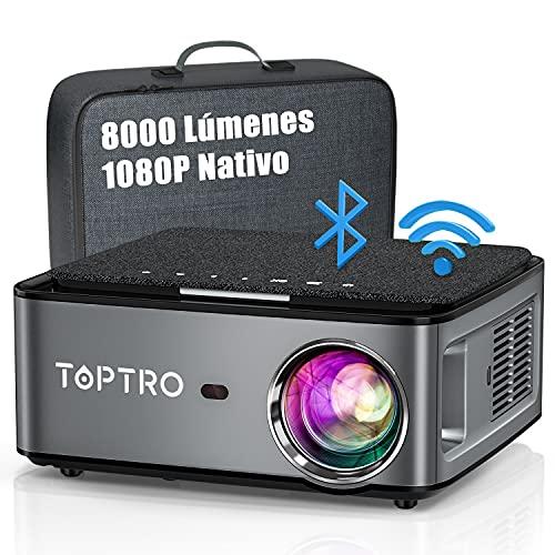 Proyector TOPTRO 8000 Lúmenes