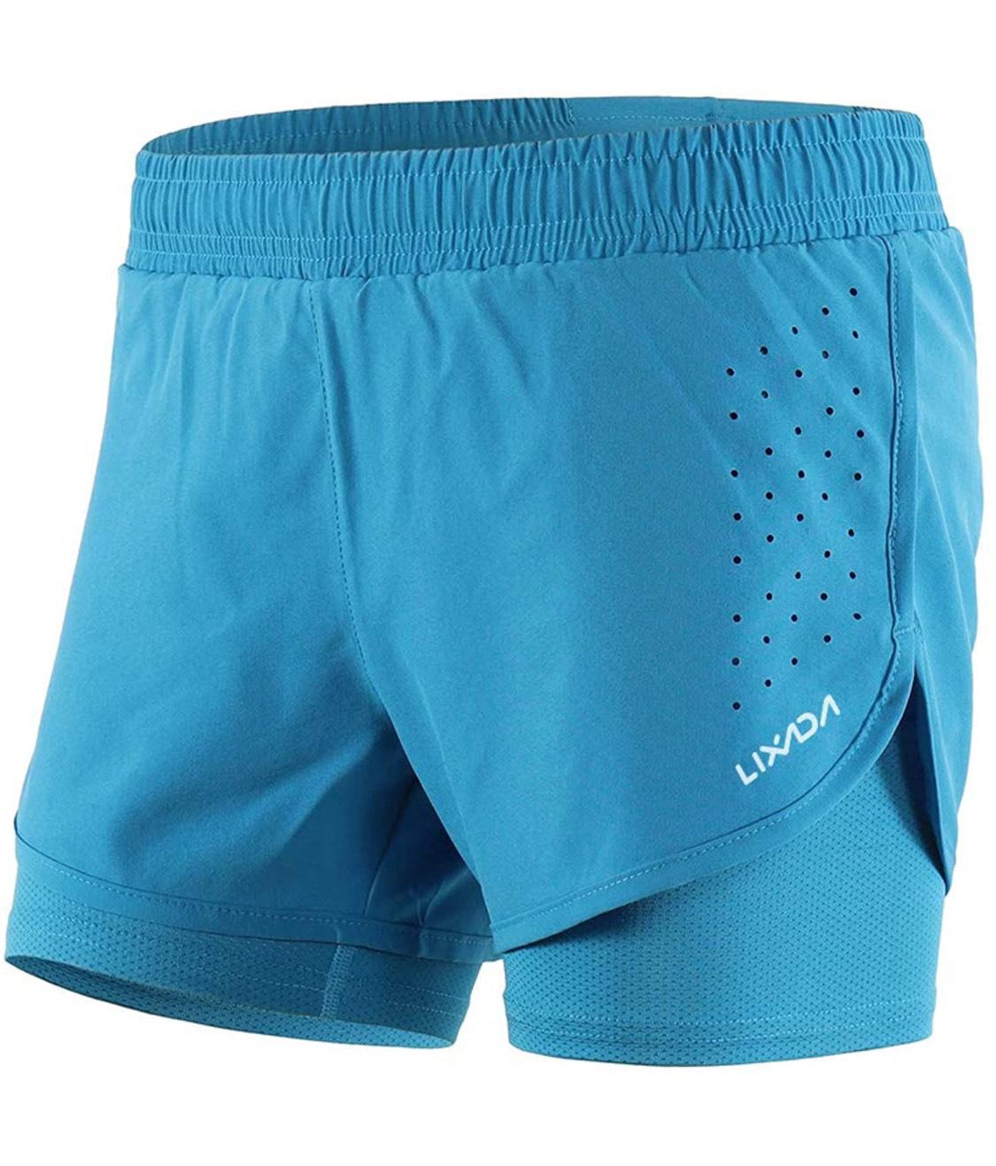 Pantalones deporte 2 en 1 mujer talla L (otras tallas disponibles pero poco stock)