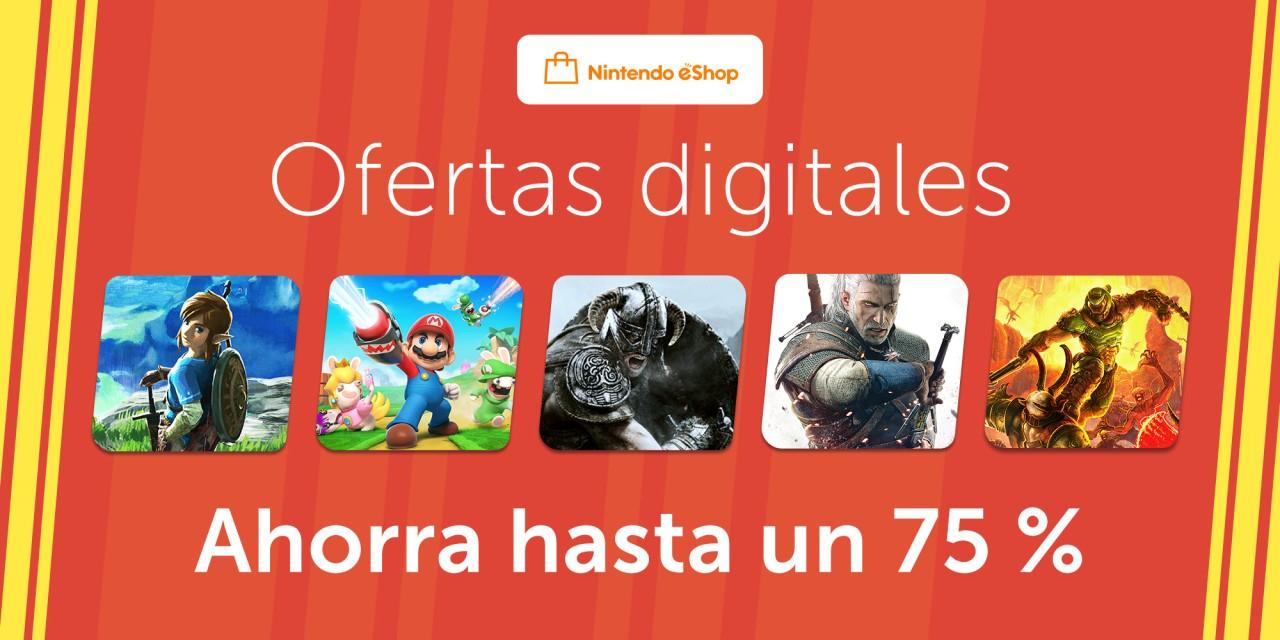 """Nintendo eShop: Promoción """"Ofertas digitales"""""""