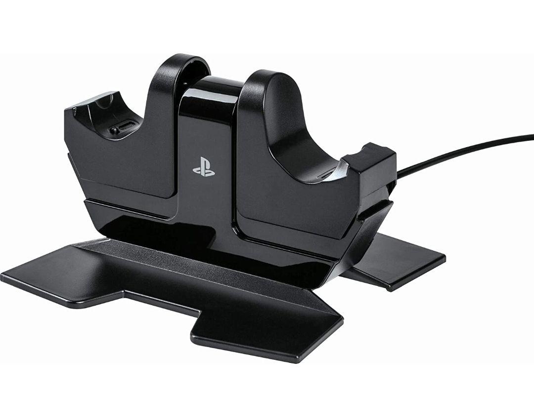 Estación de carga para 2 mandos PS4 con licencia oficial
