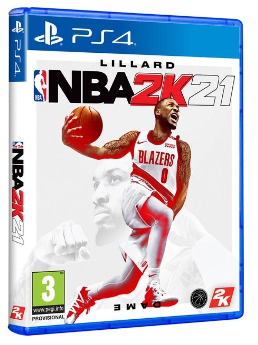 NBA 2k21 PS4 en formato físico