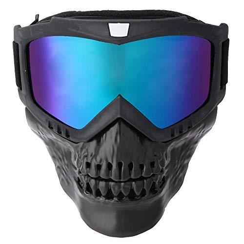 Keenso Máscara de Protección Desmontables, Gafas de Moto al Aire Libre