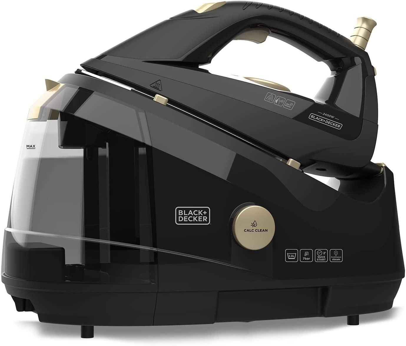 Centro planchado Black+Decker 2400W solo 29€