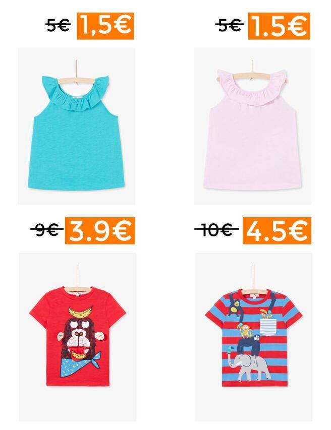 Chollitos en ropa de niñ@s Du Pareil au Même