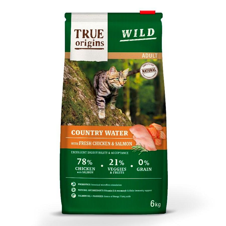 Pienso Gato True Origins 12Kg (4,5€/Kg) || 78% carne, SIN cereales, Ultra Premium