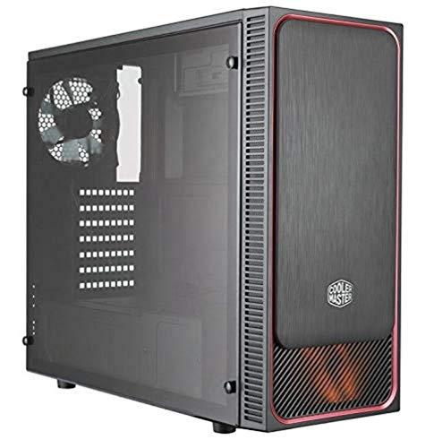 Caja pc Cooler Master MasterBox E500L , cristal templado , 3.0