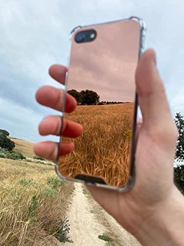 Funda Espejo para Iphone 7, 8, SE2020, 7 y 8 Plus, 11 y 11 Pro, 12 y 12 Pro, 11 y 12 Pro Max, Mini, XR.