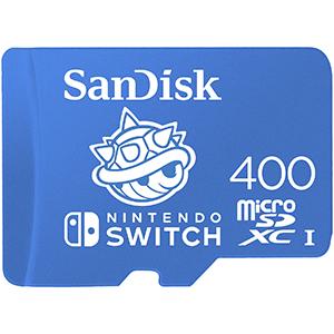Memoria Sandisk 400GB MicroSDXC CAPARAZÓN -LICENCIA OFICIAL-