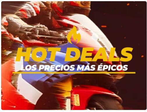 HOT Deals en Motocard