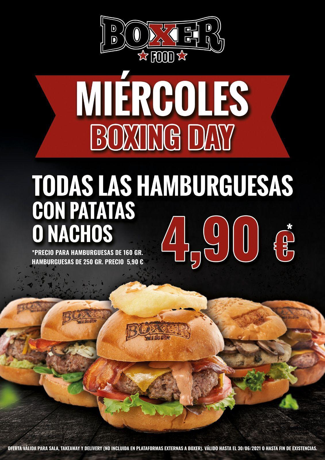 Todas las hamburguesas a 4,9€
