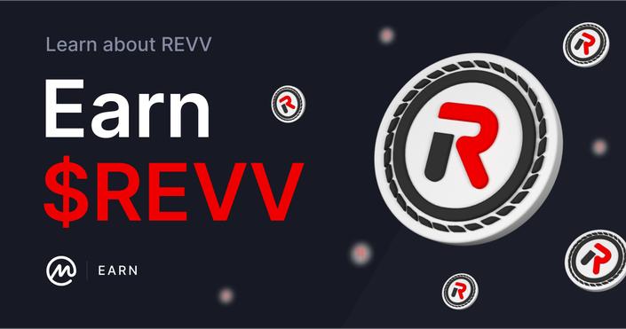 Monedas gratis REVV en earn de Coinmarketcap