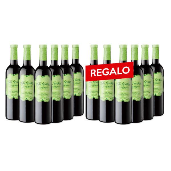 Pata Negra D.O.P. Jumilla Apasionado Tinto Sin Sulfitos + Regalo Apasionado Sin Sulfitos 24 botellas x 750 ml