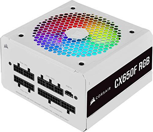 Corsair CX650F RGB Fuente de Alimentación ATX Totalmente Modular 80 PLUS