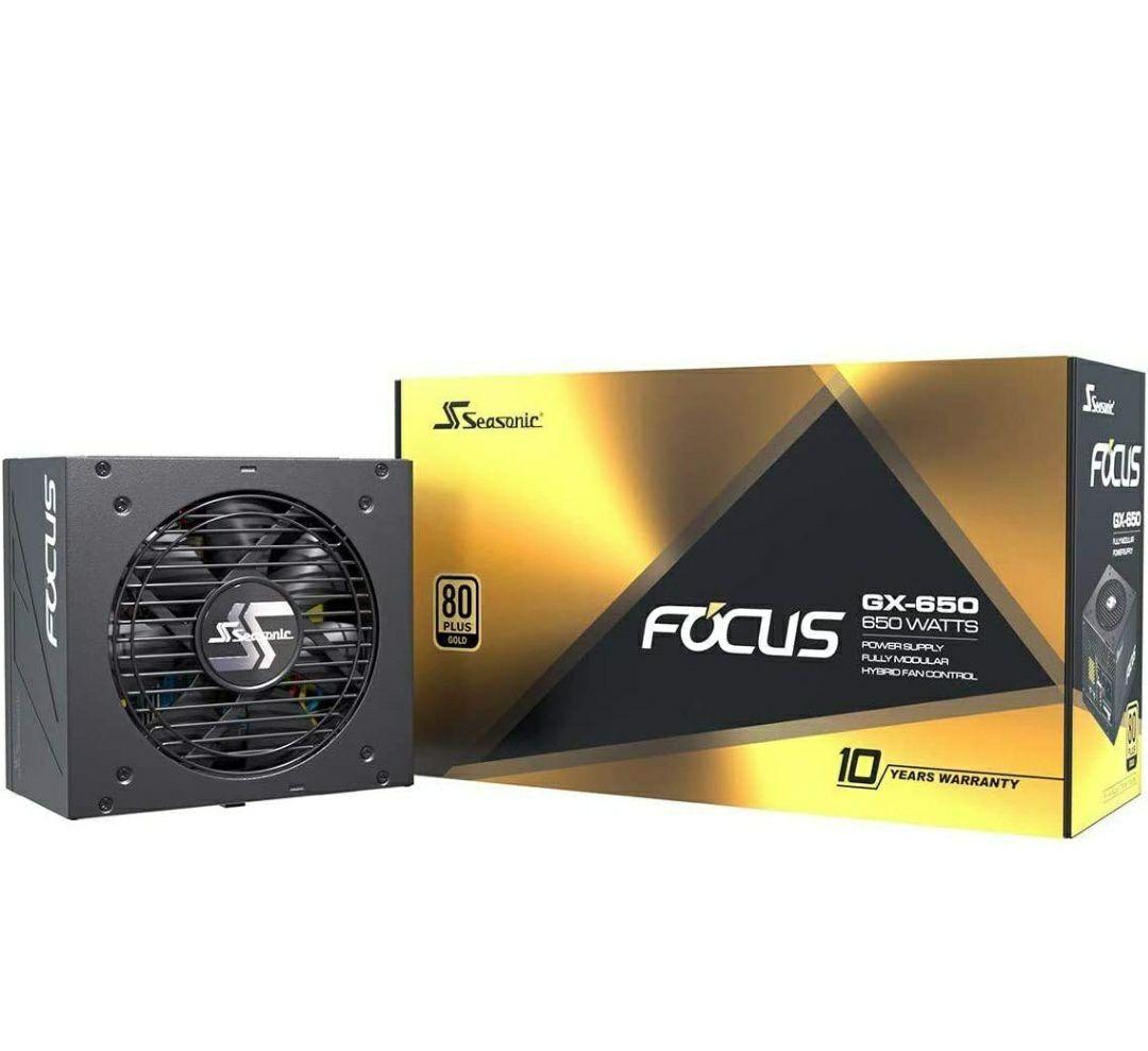 Fuente de alimentación Seasonic FOCUS GX-650 (80+ Gold 650W)