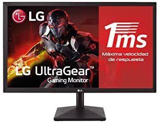 "Monitor Full HD LG 24MK400H-B de 23,8"" | 1 ms | 75 Hz"