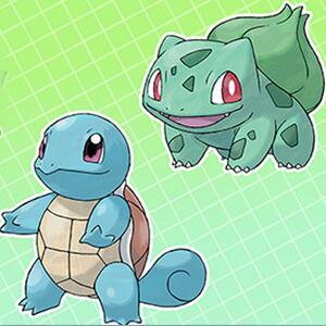 Regalo Misterioso - Squirtle y Bulbasaur con factor Gigamax [Pokémon Espada y Escudo]