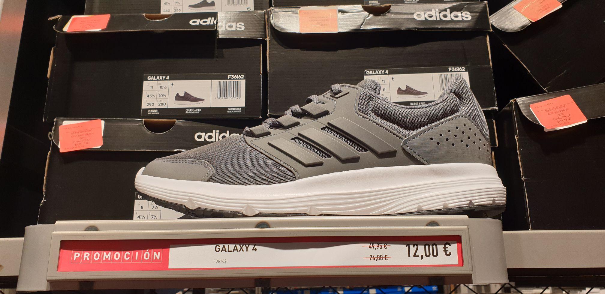 Zapatillas Adidas Galaxy 4 adulto (Tienda Adidas de La Torre Outlet de Zaragoza)