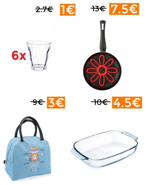 Liquidación en 80 productos de hogar y cocina OHGAR