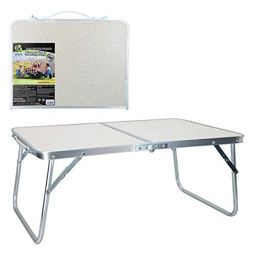 Mesa plegable camping blanca