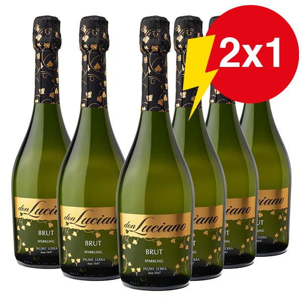 2 x 1 (12 botellas por el precio de 6)
