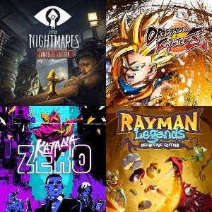 Little Nightmares Complete, Rayman Legends, DRAGON BALL® FighterZ, Katana Zero (eShop)