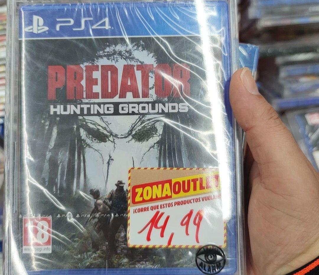 PS4 Predator Hunting Grounds (Mediamarkt Pamplona)