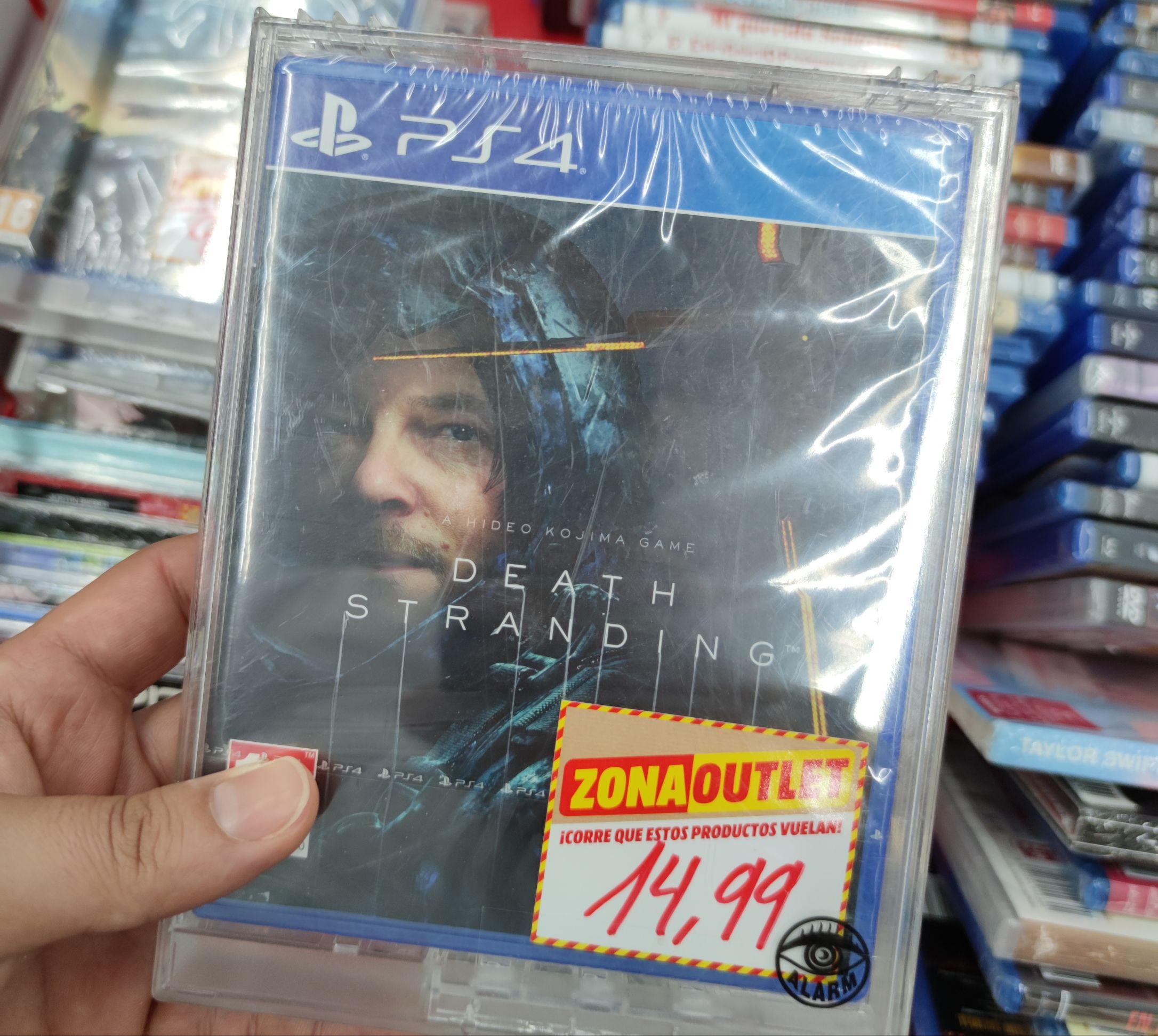 PS4 Death Stranding (Mediamarkt Pamplona)