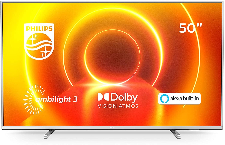 "TV 50"" Philips Ambilight 3 UHD 4K Smart TV"