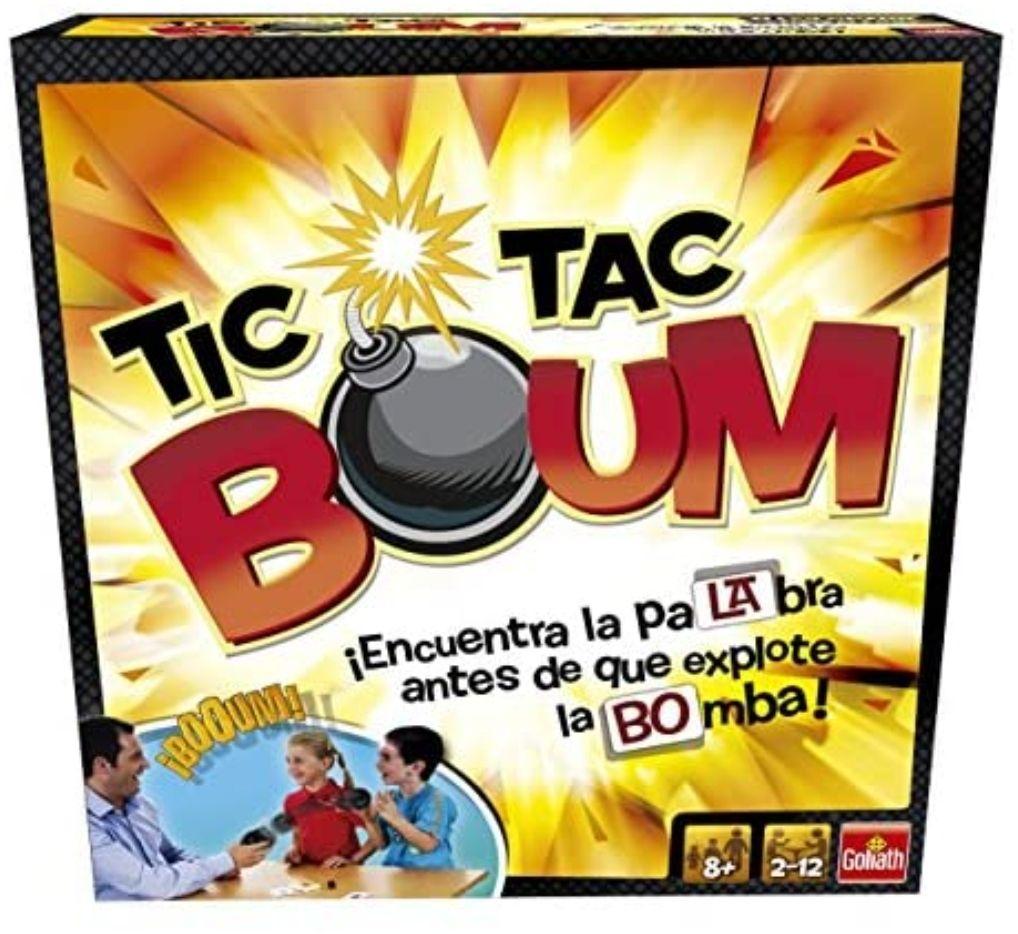 Tic Tac Boum, Juego de Cartas, Encuentra la palabra