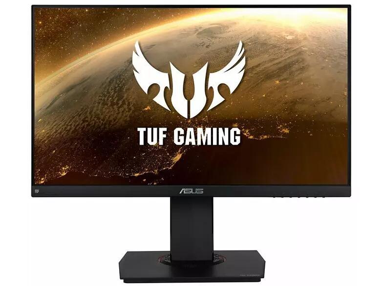 """Monitor gaming - Asus TUF Gaming VG249Q, 23.8"""" Full-HD IPS, 1 ms, 144 Hz, FreeSync, HDMI, Negro"""
