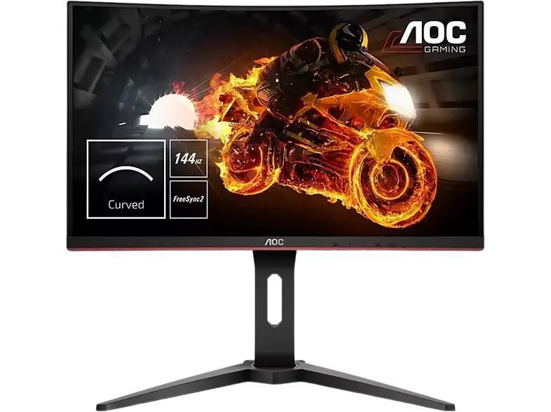 Monitor Gaming AOC Curvo 24 Pulgadas Full HD 144Hz