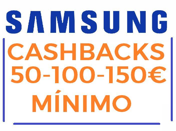 [Galaxy Week] Cashback de 100€ mínimo en una selección de Smartphones y tablets Android [Aplicado en el carrito]