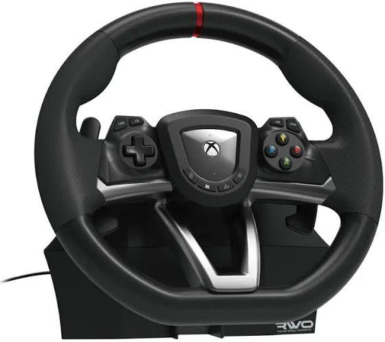 Volante - Hori Racing Wheel Overdrive, Para Xbox Series X | S, Xbox One y Windows 10, Negro