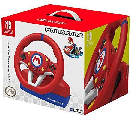 Volante Mario Kart Pro Mini (Nintendo Switch/PC) + Pedales