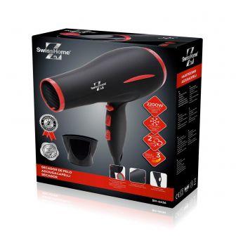 Secador de Pelo SwissHome H-6636 2200W Soft Touch