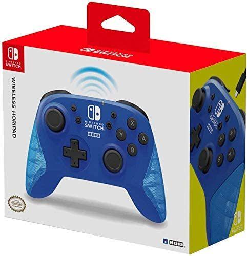 Mando Horipad inalámbrico azul (Nintendo Switch)